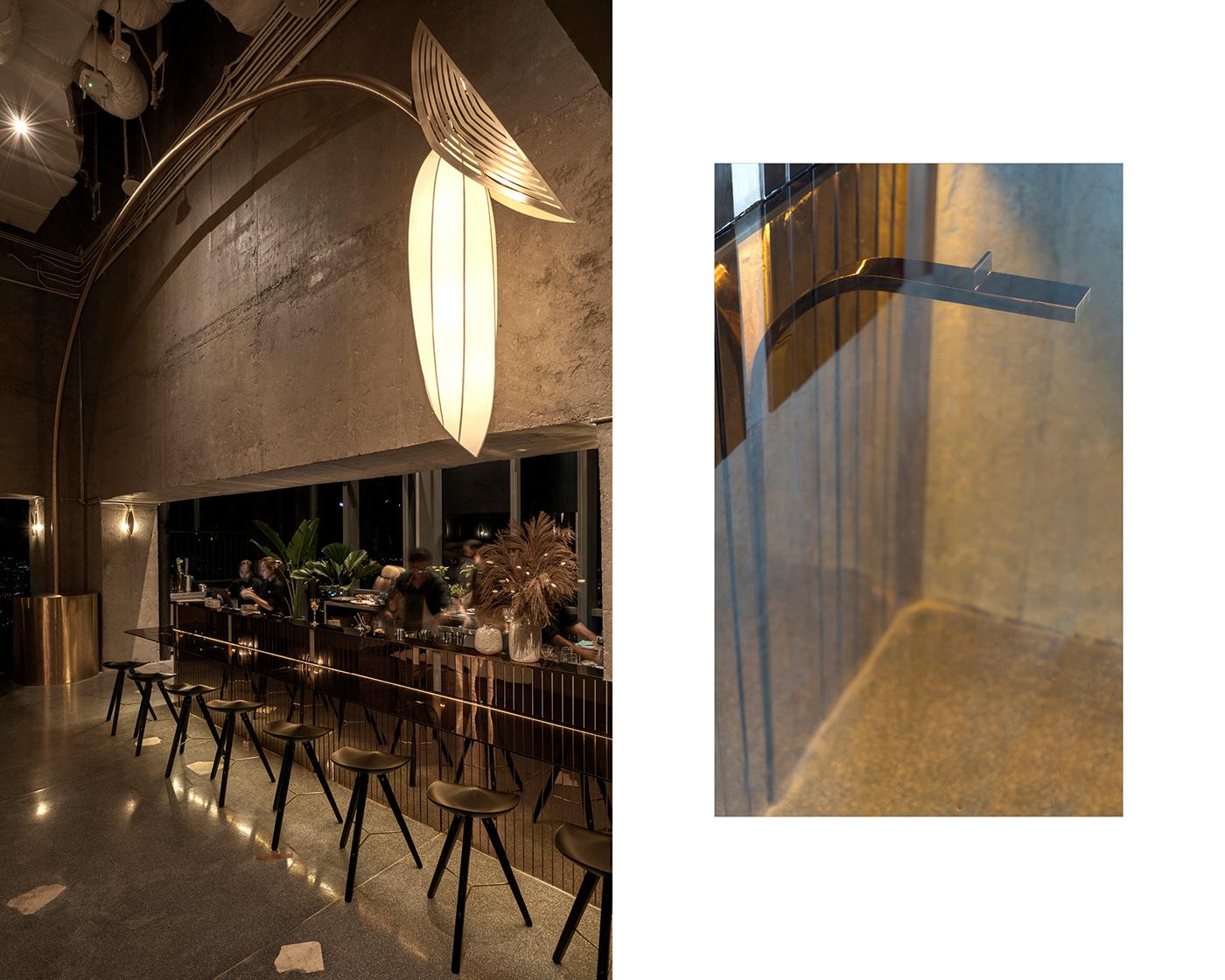 vietnam interior design  branding  lounge