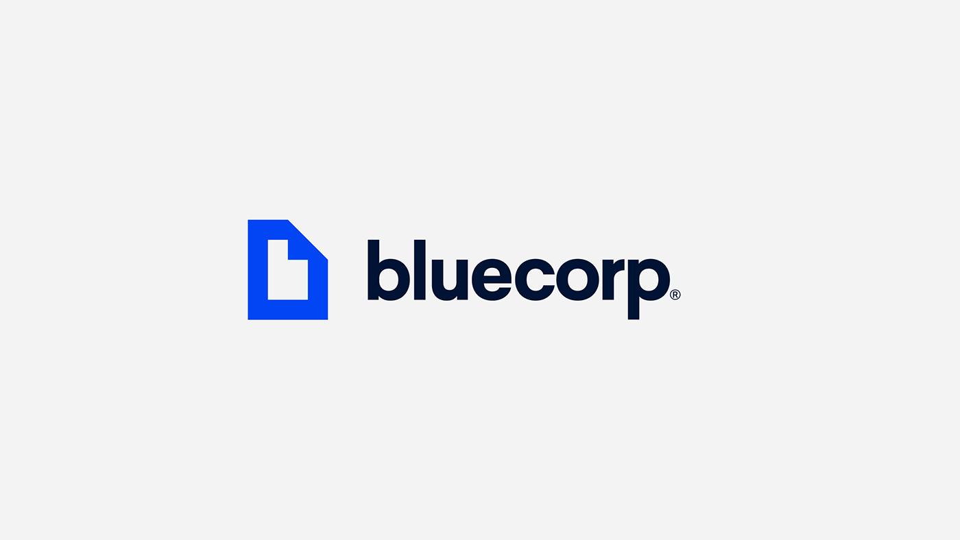 logo Icon isotype blue Technology UI Website identity argentina Logotype
