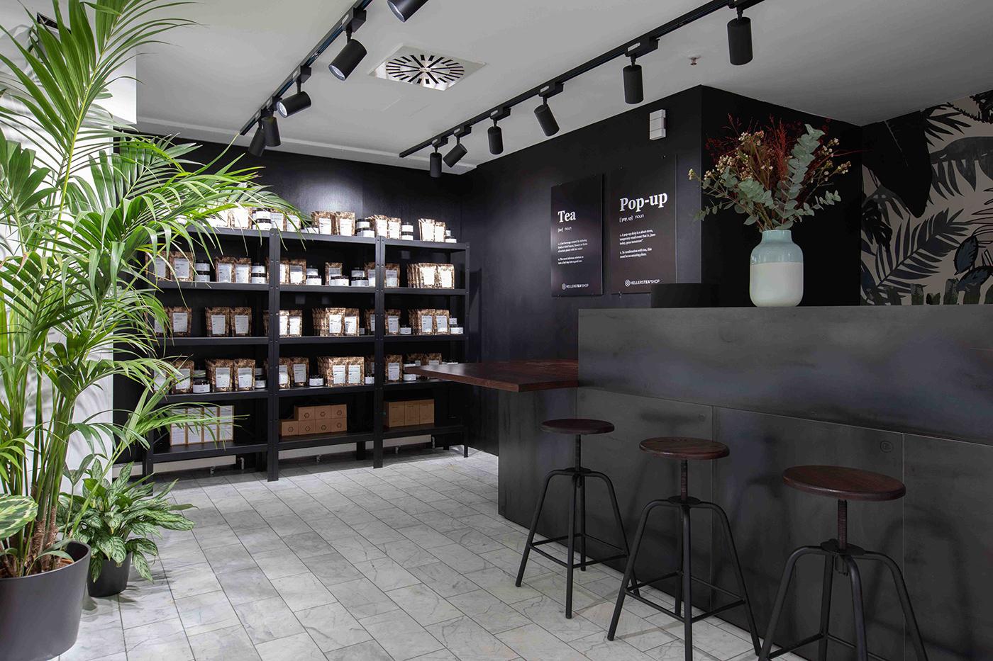 Innenarchitektur interior design  Nobla Karlsruhe raumdesign Tea shop