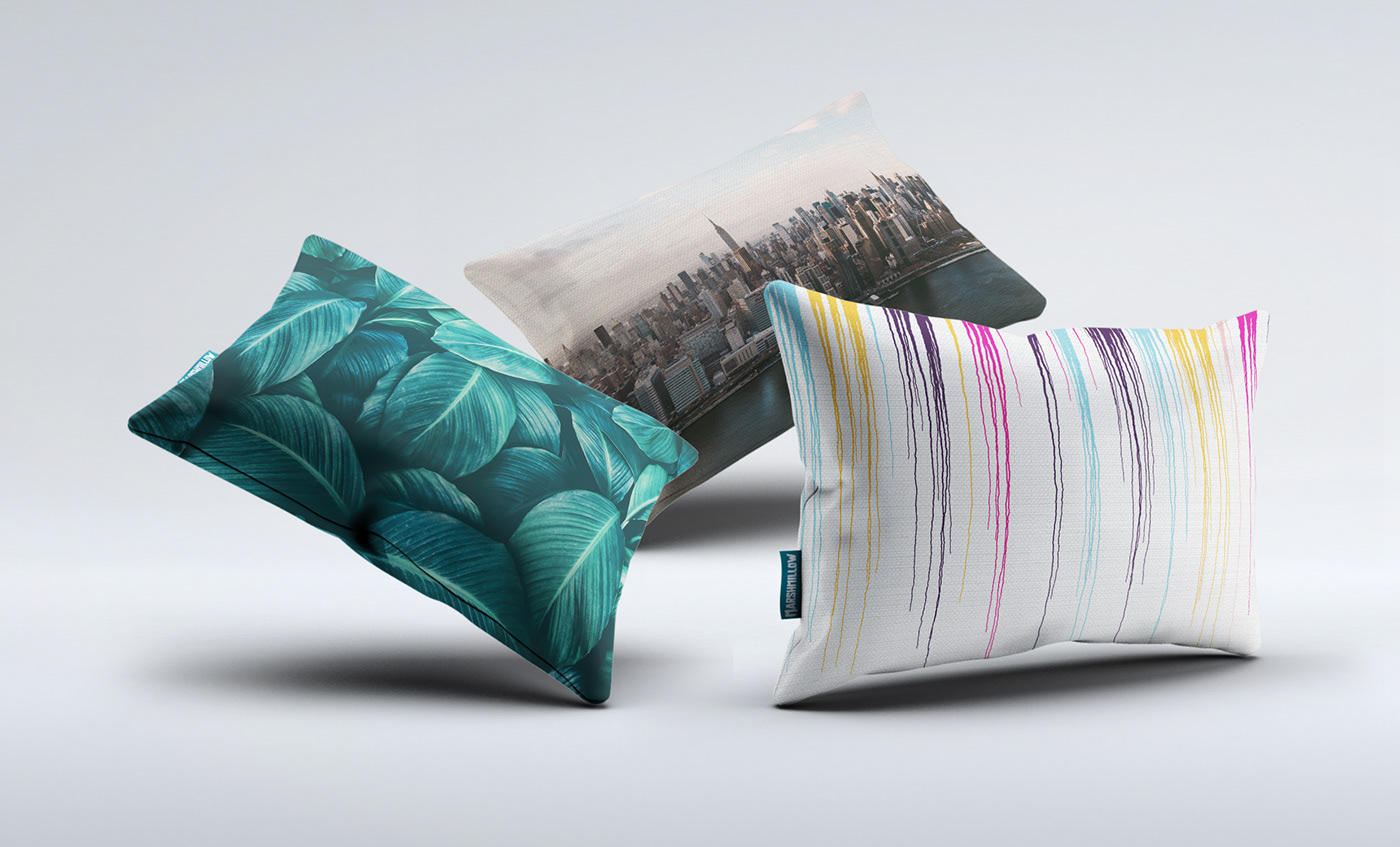 branding  colorful Fun Packaging pillows product design  Web Design