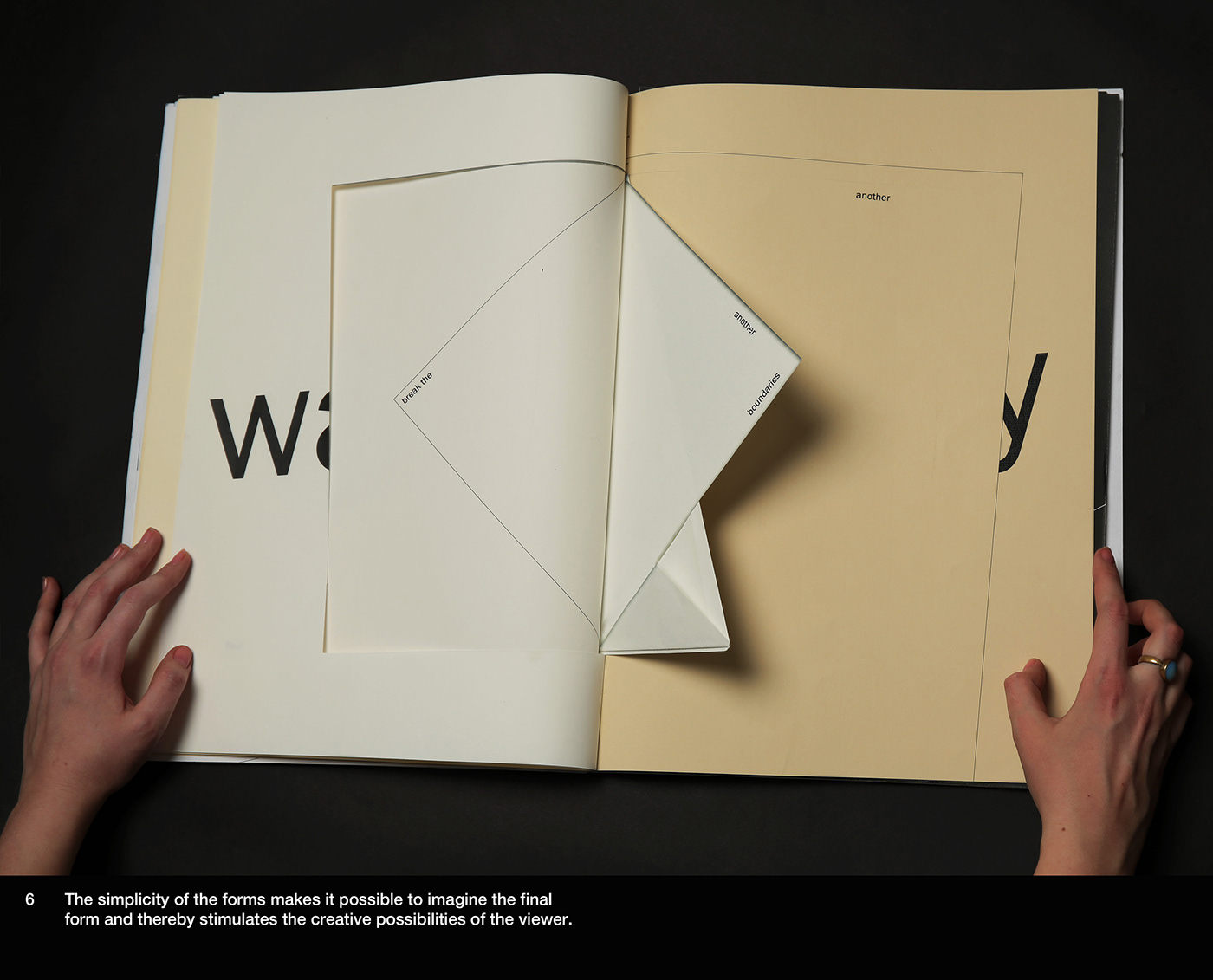 D&AD,Antalis,Conqueror,paper,book,tipography,paper art