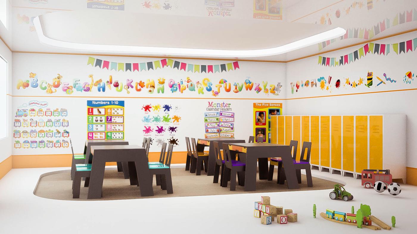 Kindergarten Interior Design Published February 28 2015 Thank You