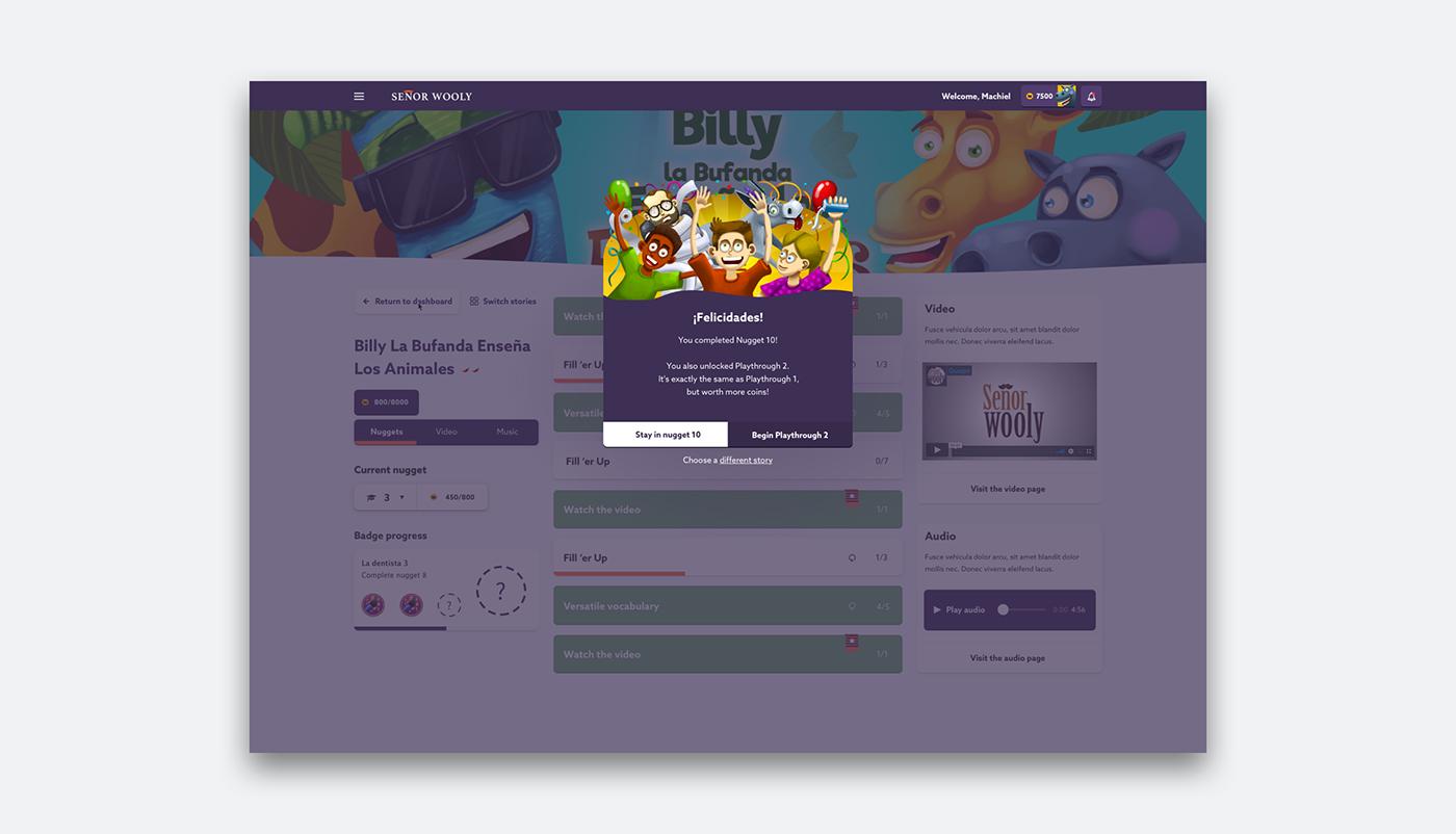e-learning app webapp react dashboard application ILLUSTRATION  UI ux product design