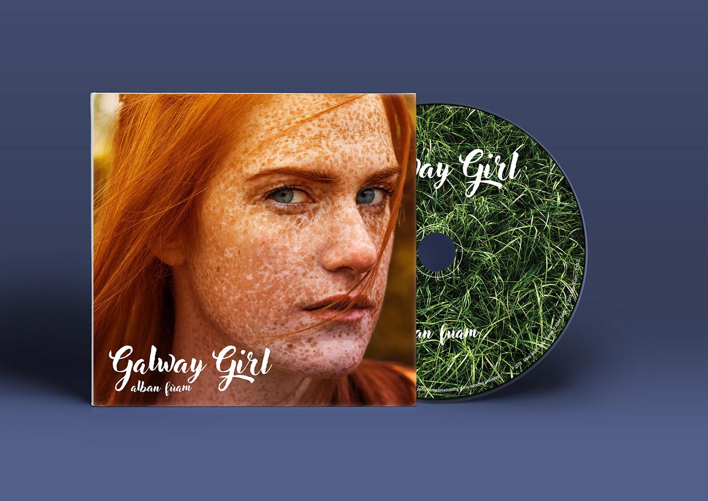 red hair red haired girl freckles irish girl autumn Ireland Irish music