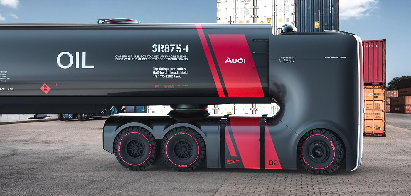 Truck For Audi On Behance