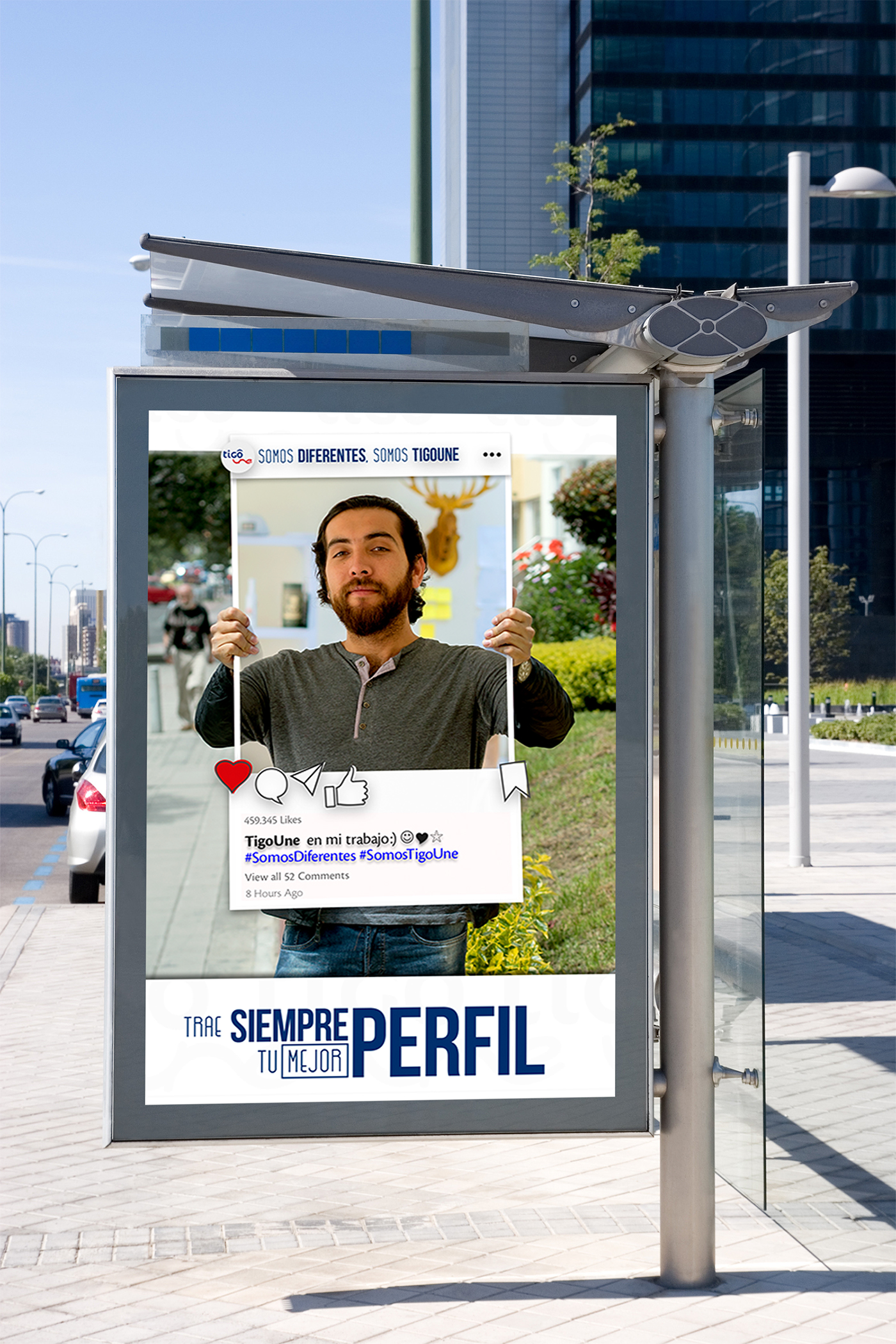corporate training courses graphic design  Photography  concept Website bus stop poster