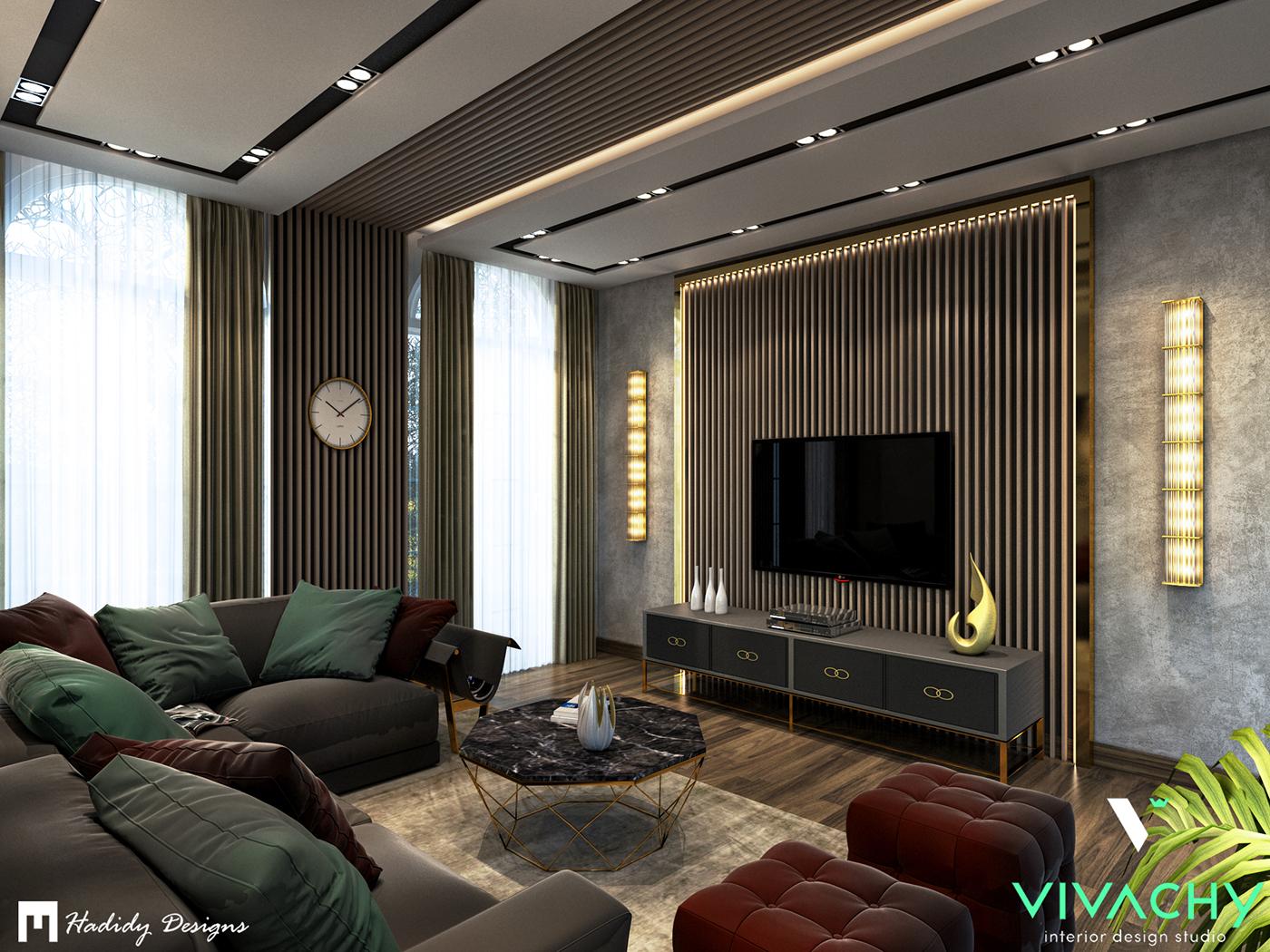 Modern Contemporary Interior Design modern contemporary living room..5th settlement on behance