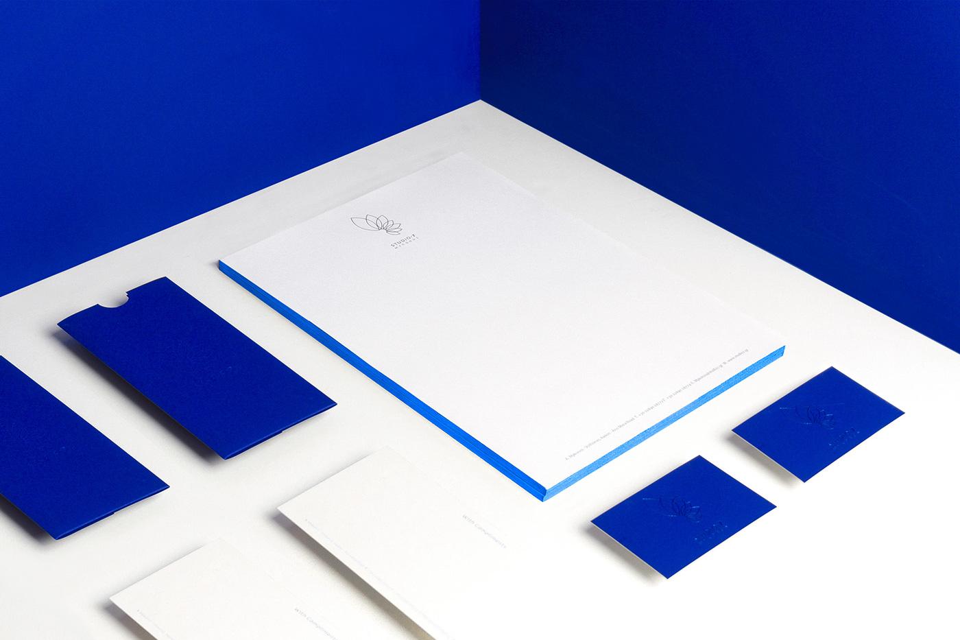 branding  Mykonos minimal Flowers visuals blue Greece angelos botsis Logotype Florescence