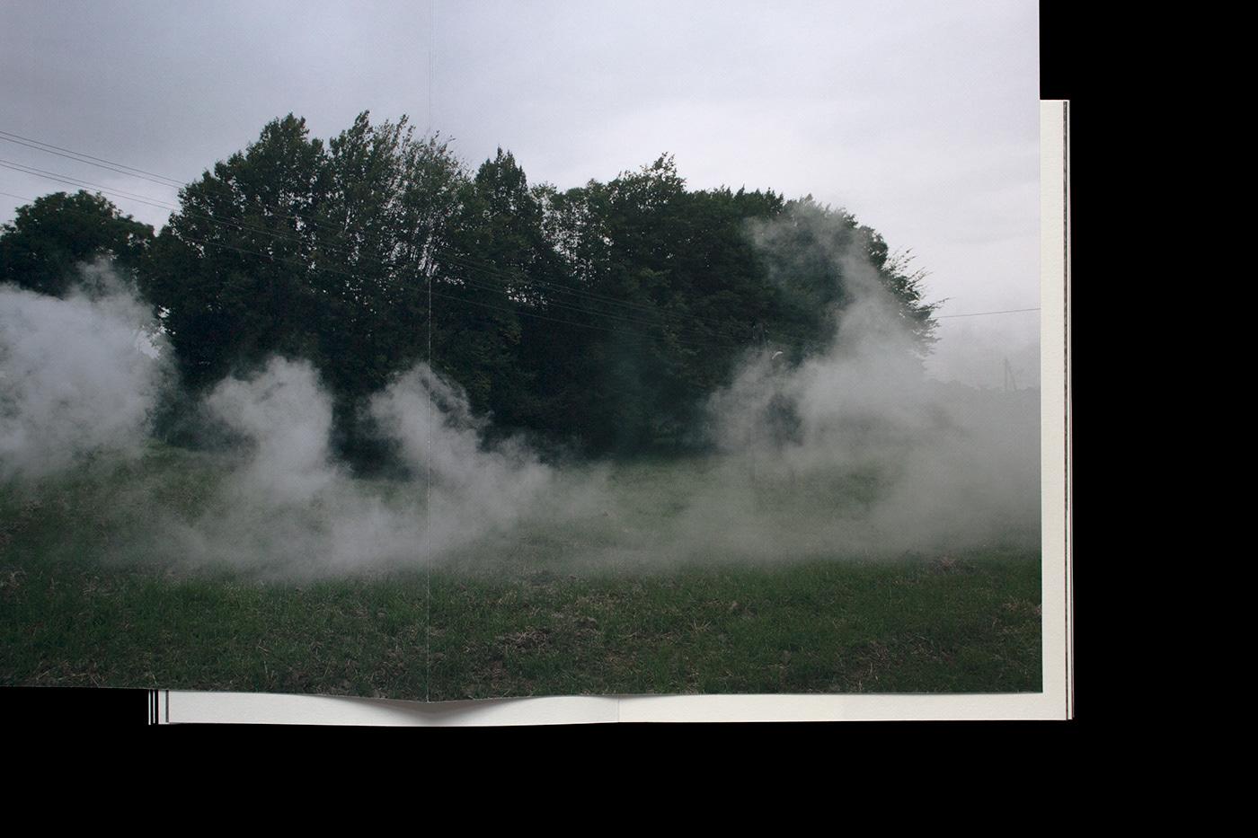 Image may contain: fog, smoke and sky