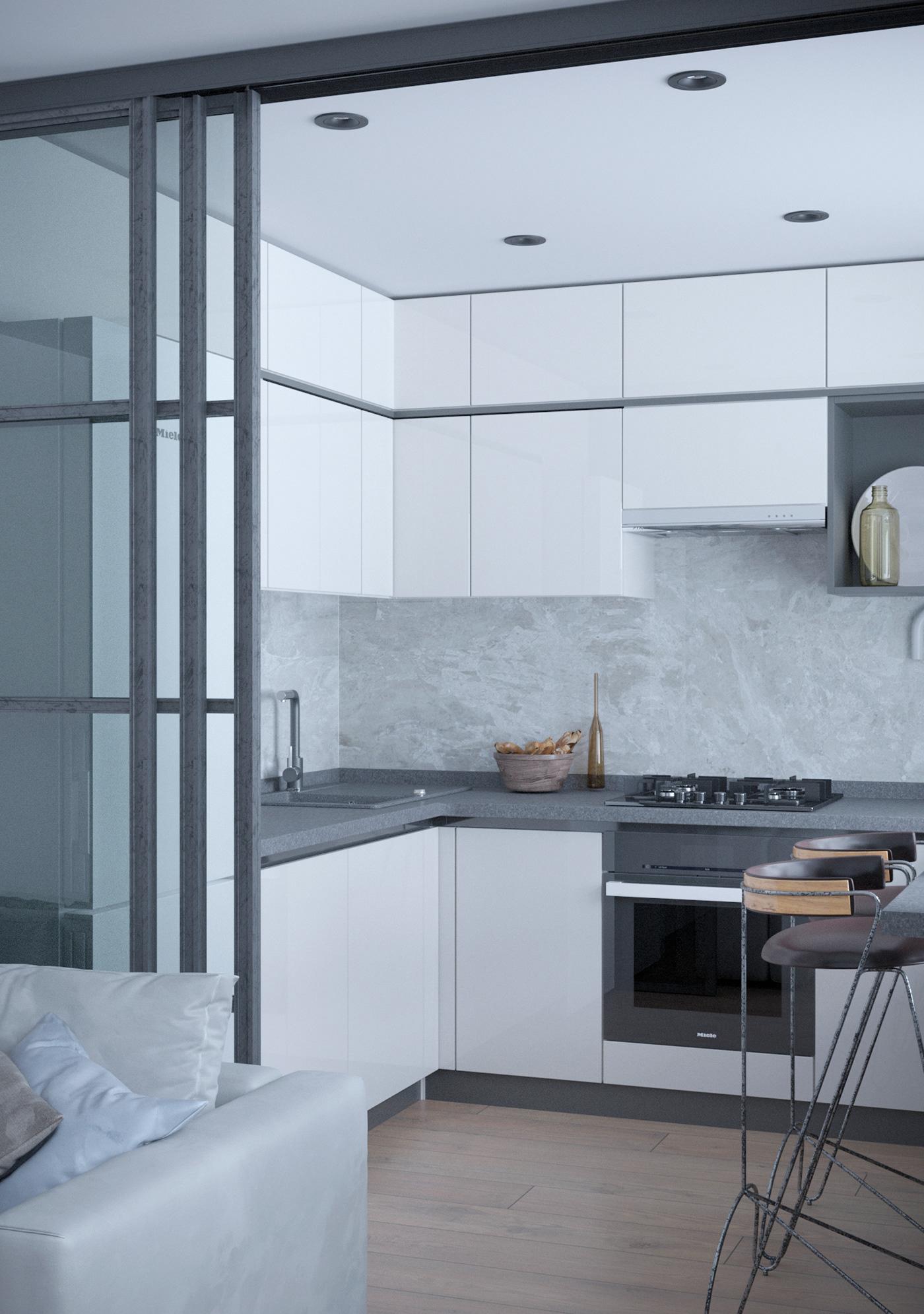 Визуализация кухни дизайн интерьера дизайн кухни