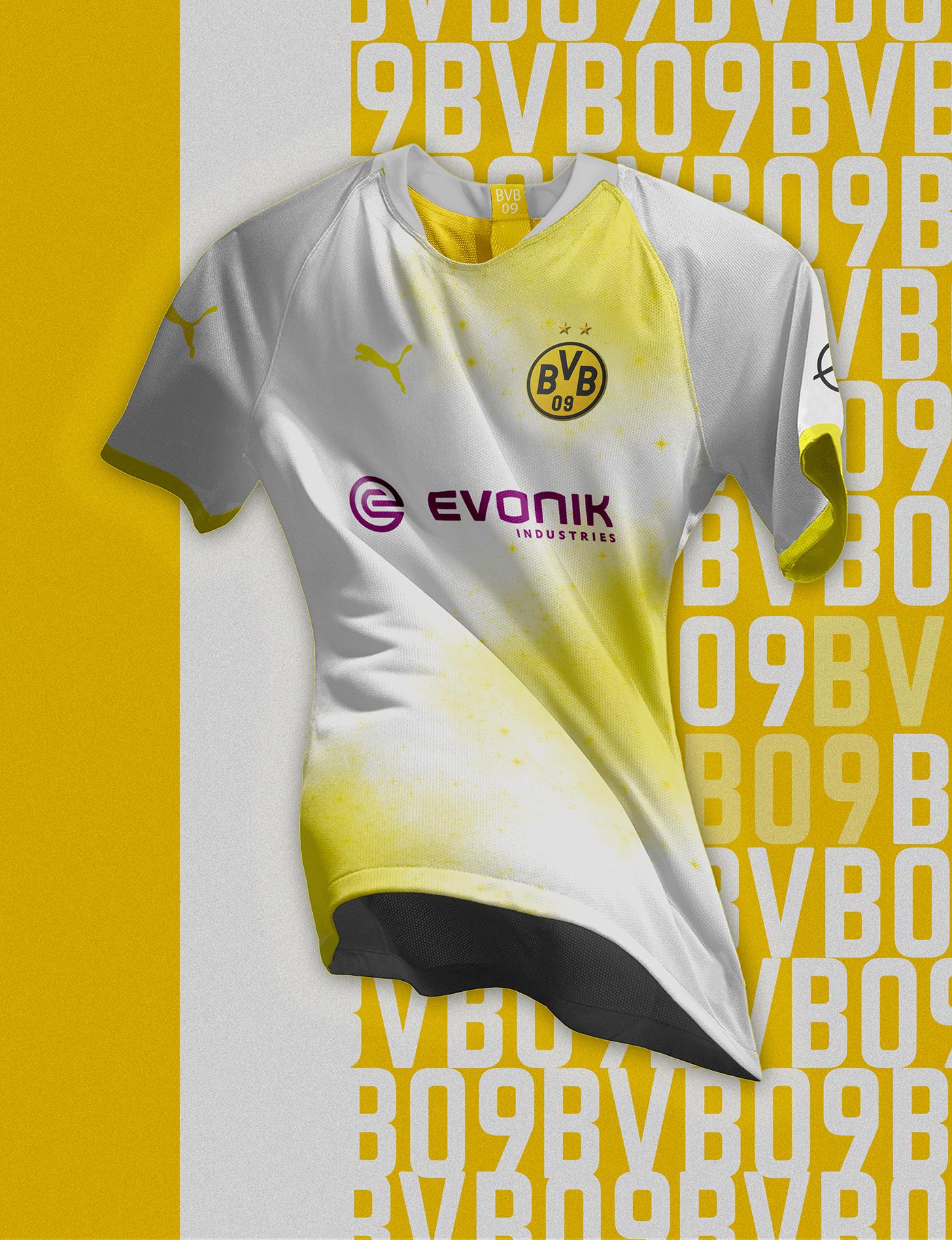 bvb borussia Borussia Dortmund soccer Futbol kit equipacion