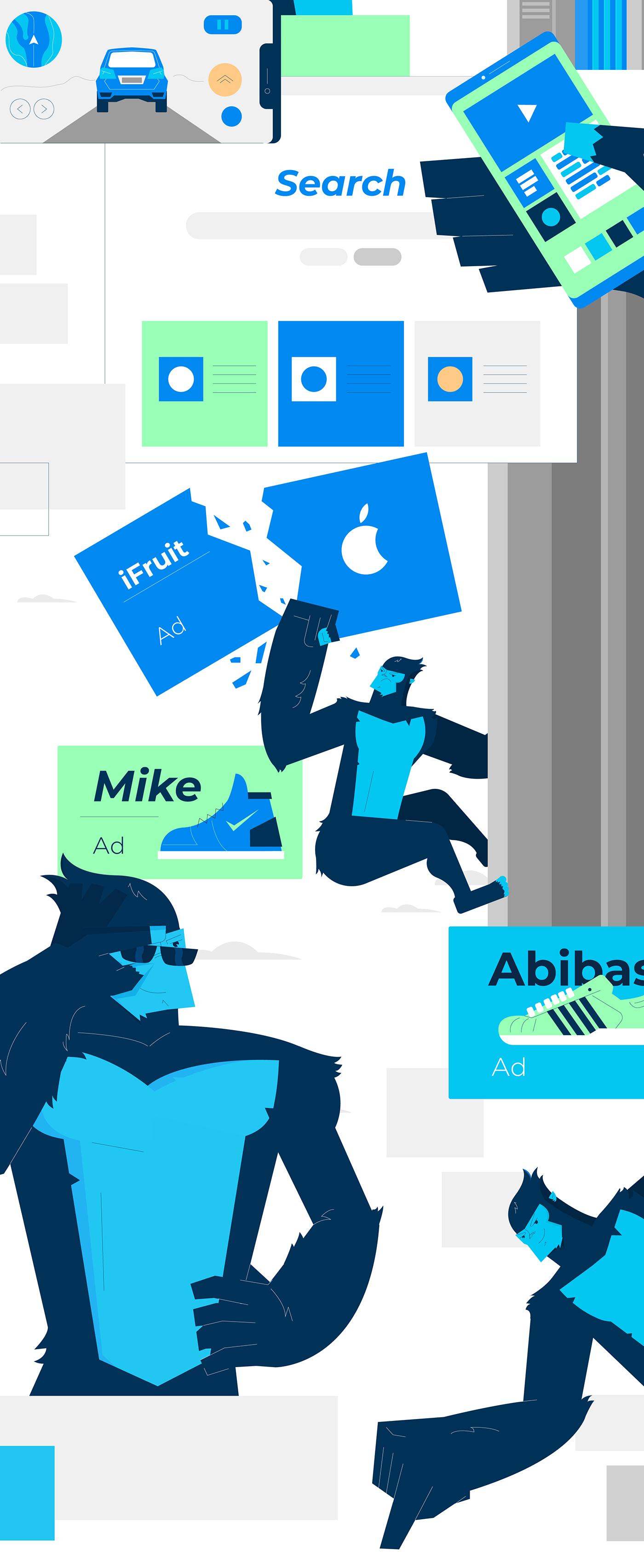 ad blocker video android ad blocker video animated ad animated promo animated promo video explainer video Product Promo Video security product video saas explainer saas explainer video