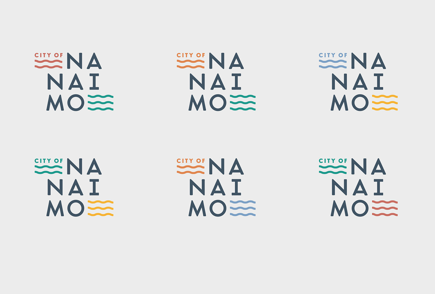 The Wave Nanaimo >> City Of Nanaimo Rebrand On Behance