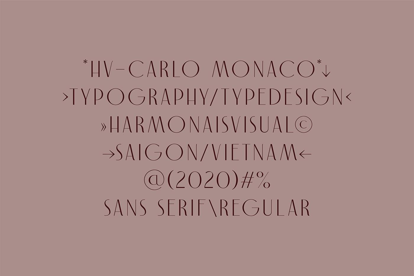 artdeco Mordern typedesign