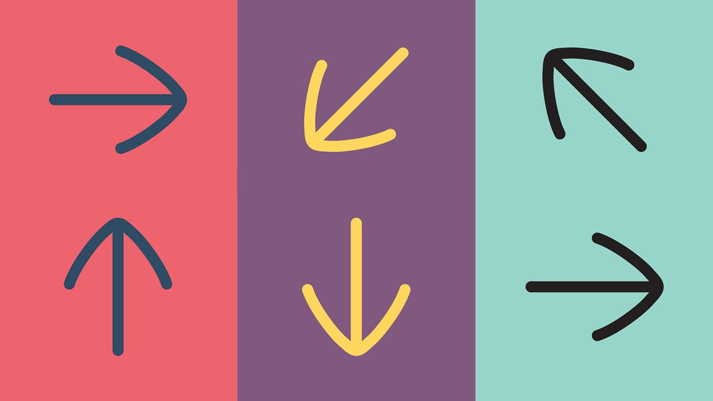 wayfinding Signage environmental icons pictograms Wall Graphics Geometrical colorfull minimal wood