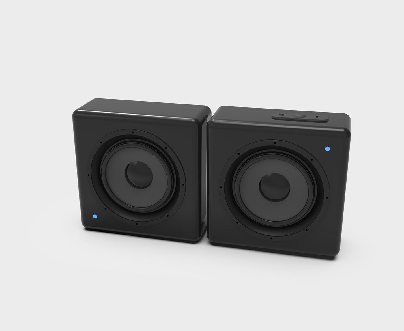 3D product design  music Technology Wearable concept idea earphones portable apple