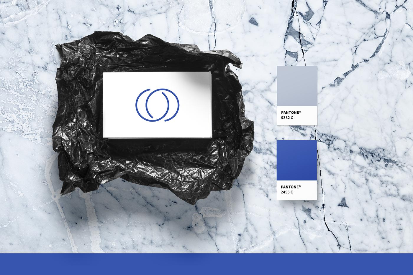 medical branding  clean grey clinic Logo Design Webdesign