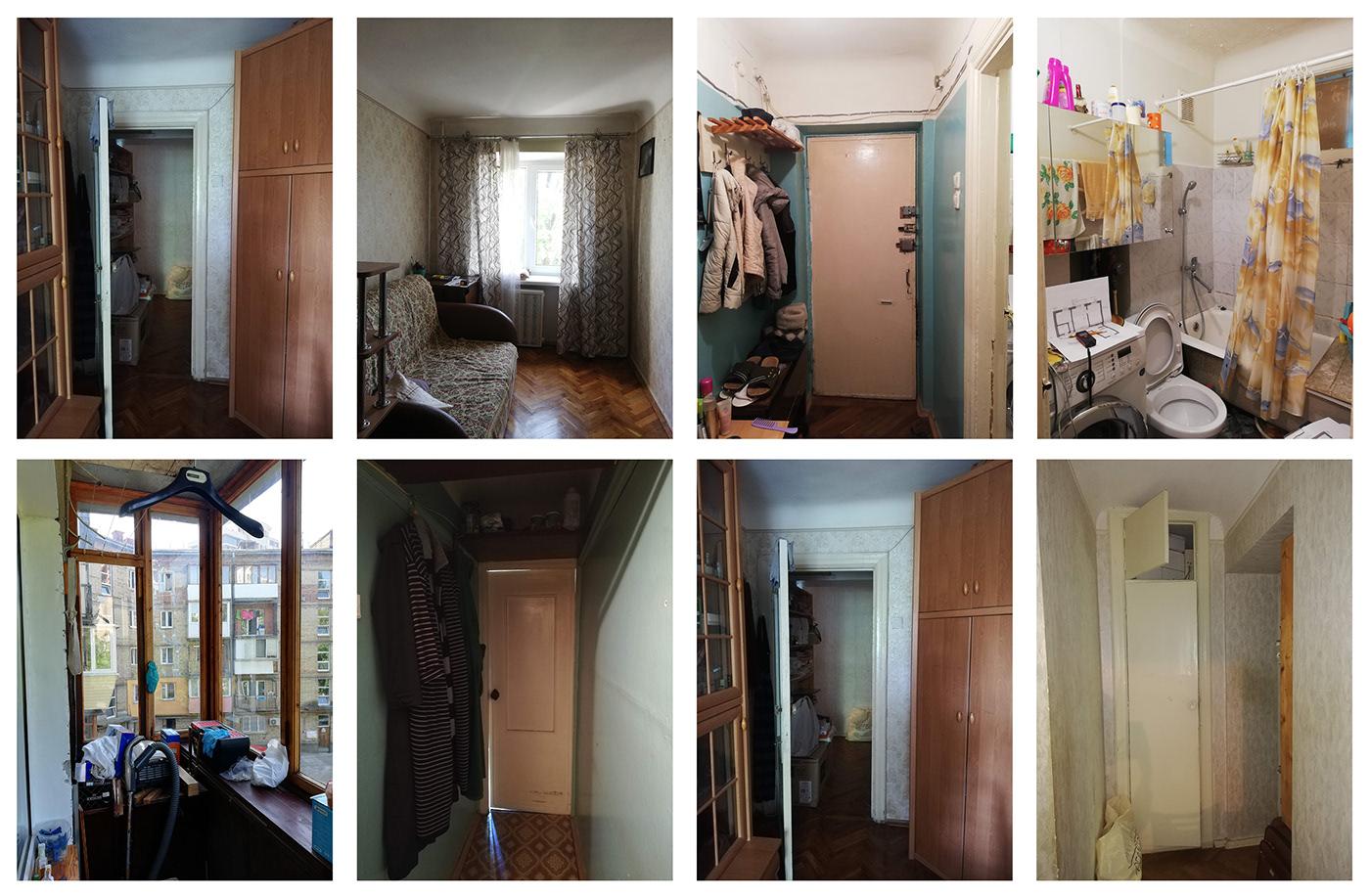 Image may contain: door, mirror and bathroom
