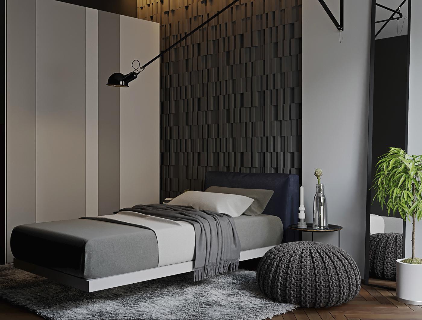 CoronaRender  Interior livingroom 3d max