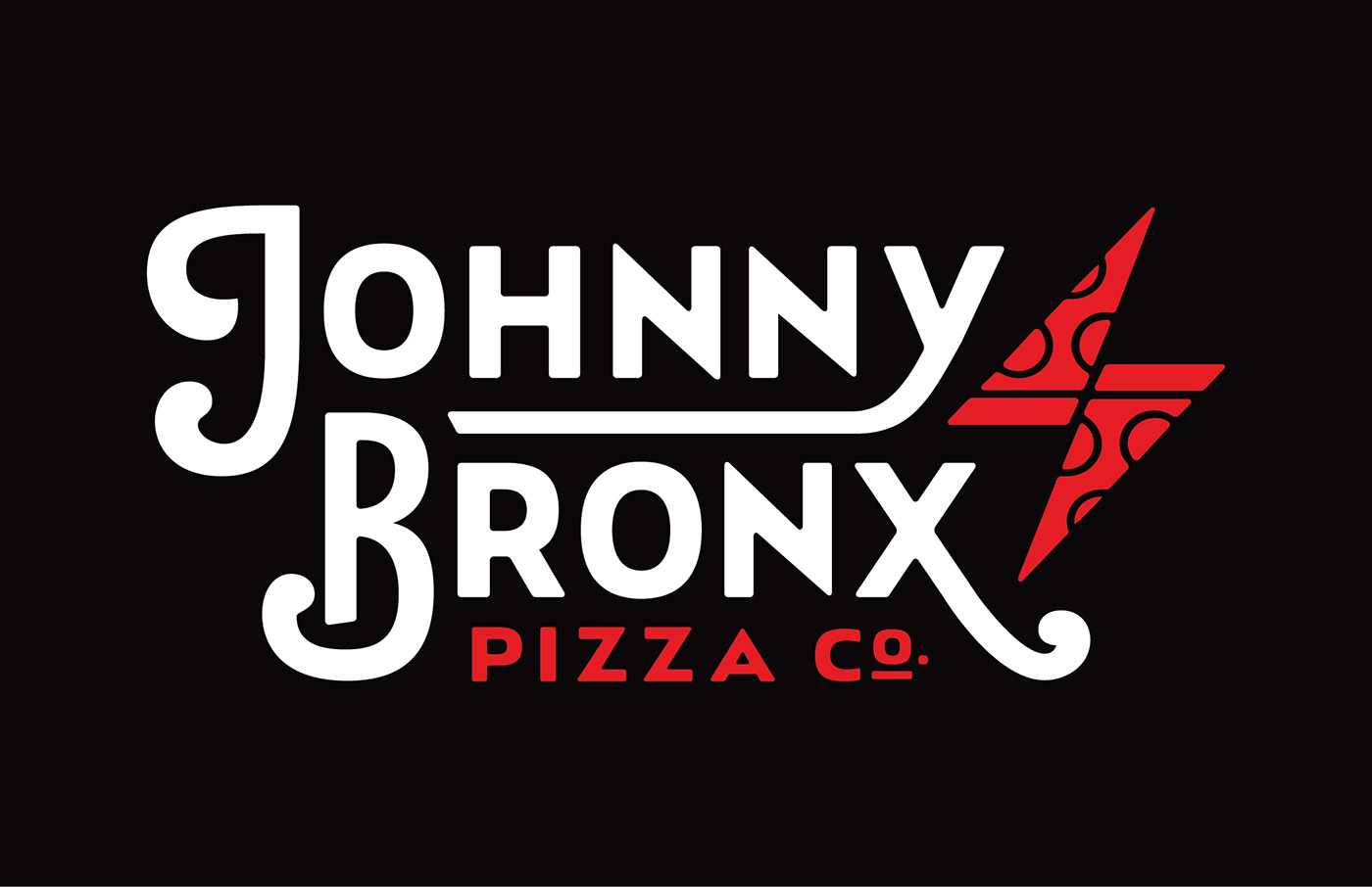 johnny bronx Pizza branding  brand package design  Packaging ILLUSTRATION  Idaho sliced pizza NY Style
