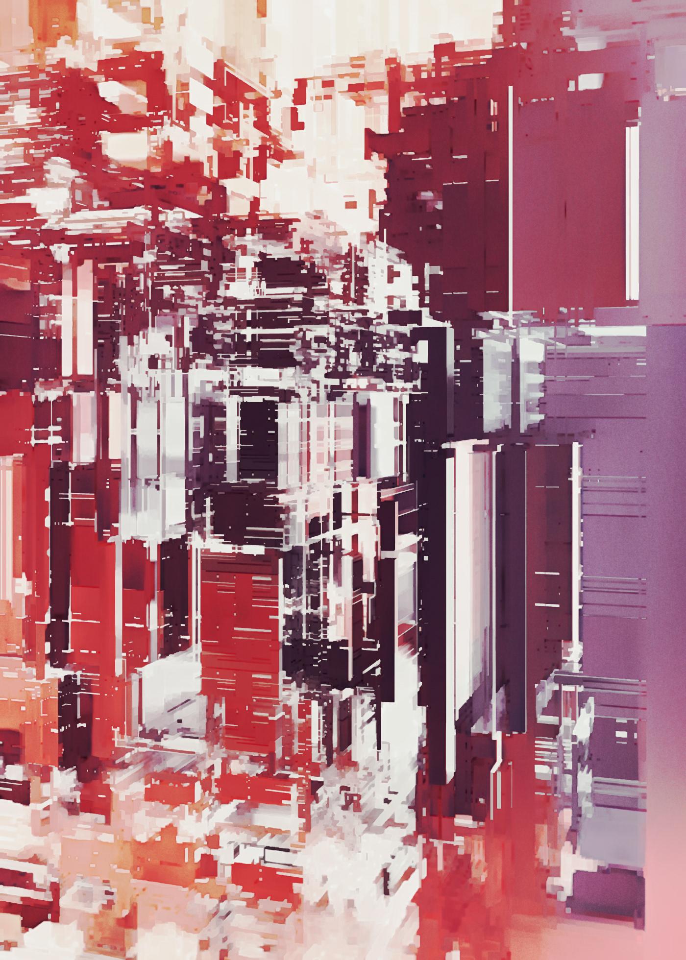 abstract city analog
