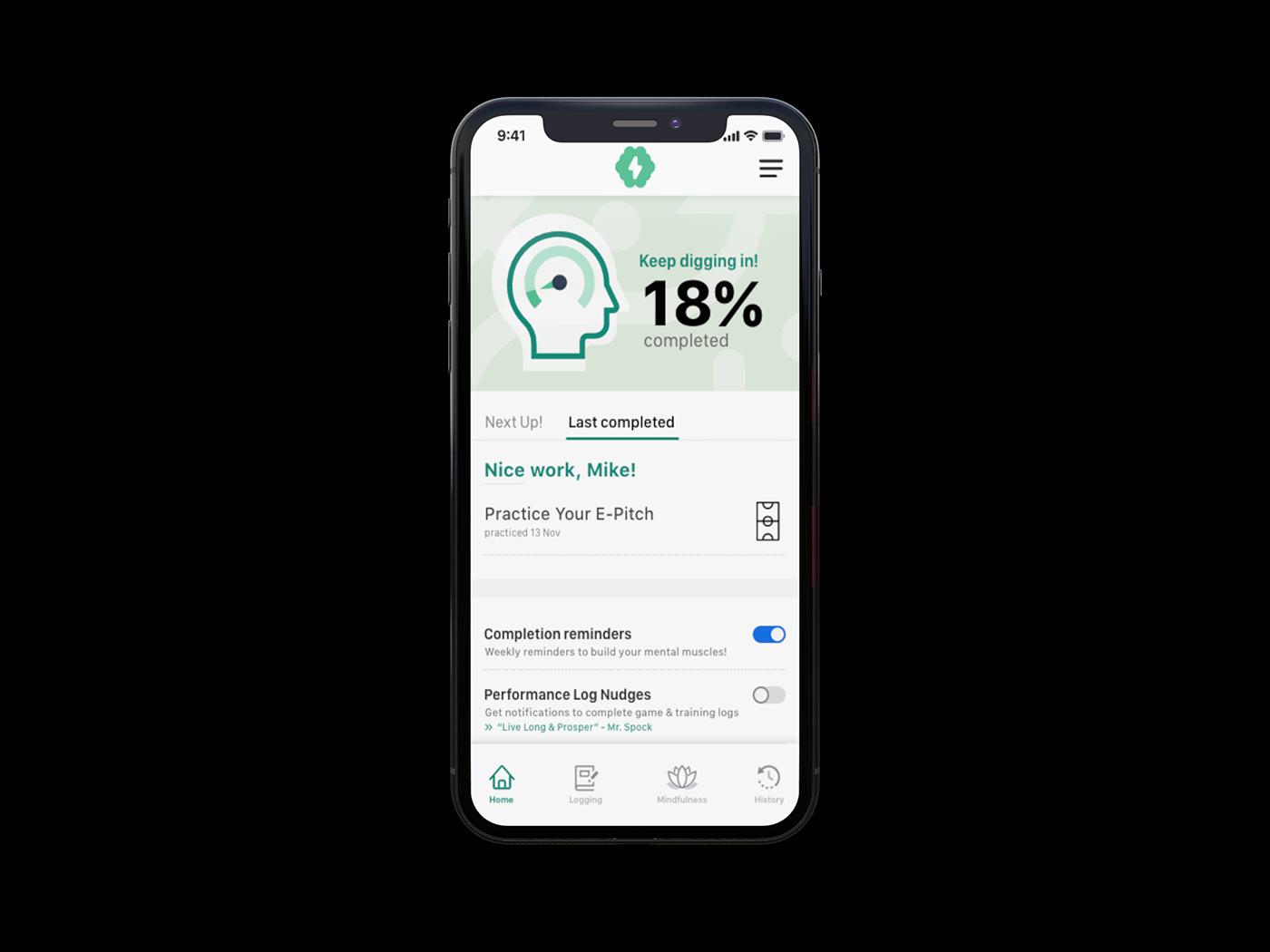 app interactive prototype