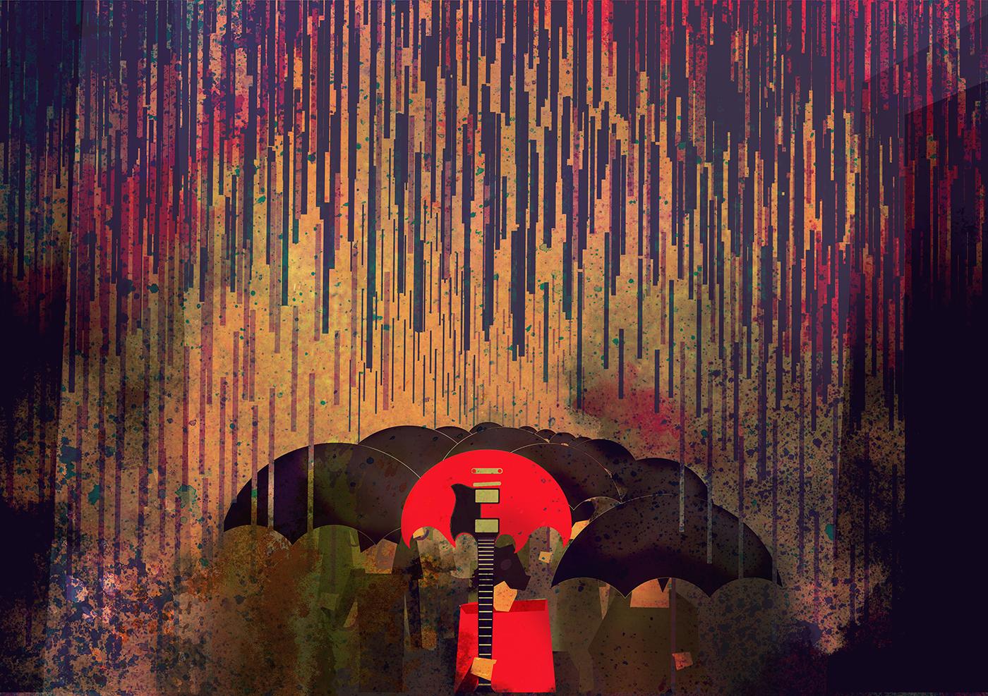 Gibson sg rain