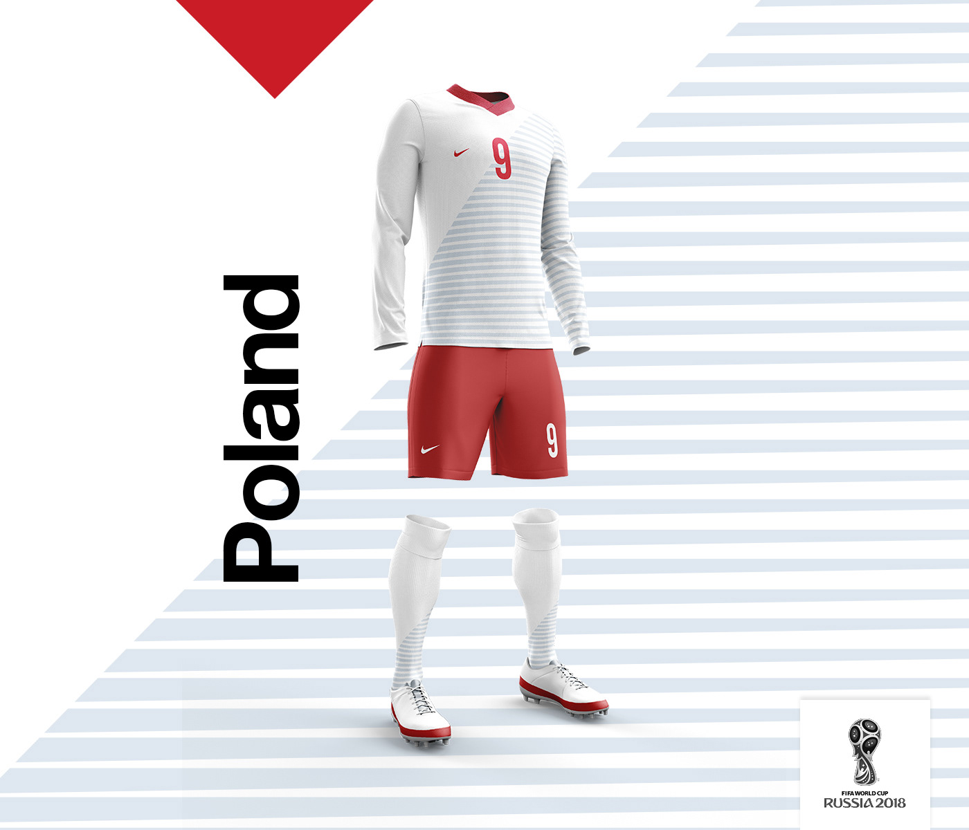 football soccer Retro WorldCup cup Russia footballkit 3D Mockup