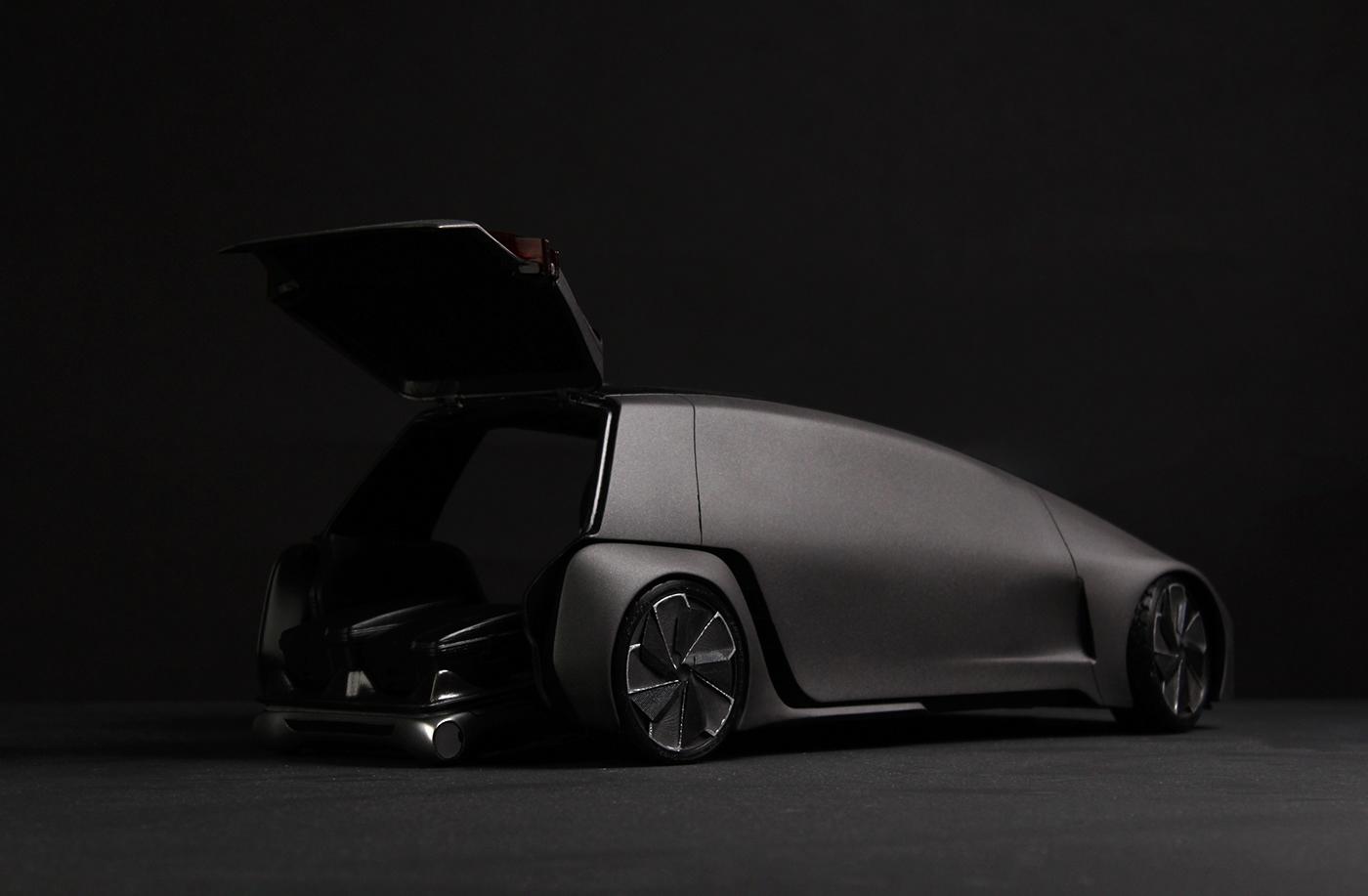 Automotive design Transportation Design car model Model Making 3d printing cmf industrial design  product design  concept design car