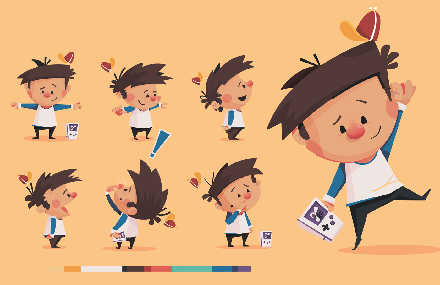 Book For Character Design : Children s book character design process on behance