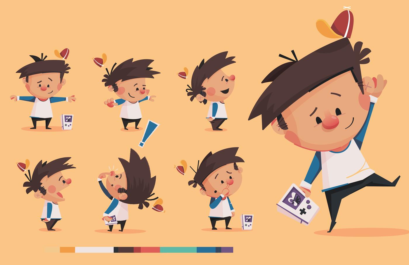 Children S Book Character Design : Children s book character design process on behance