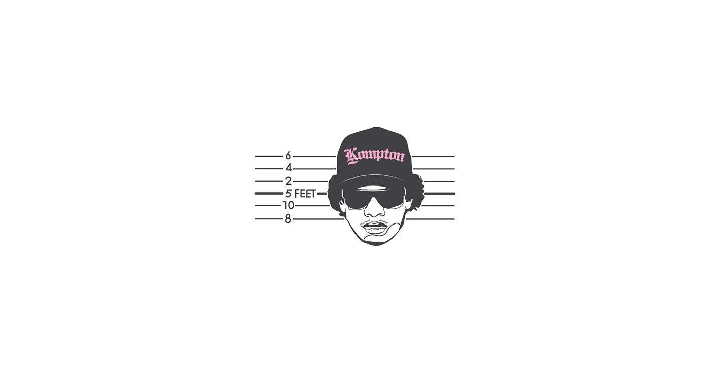 hiphop ILLUSTRATION  minimal Drawing  lamar pencil digitalart vector creative tylorthecreator