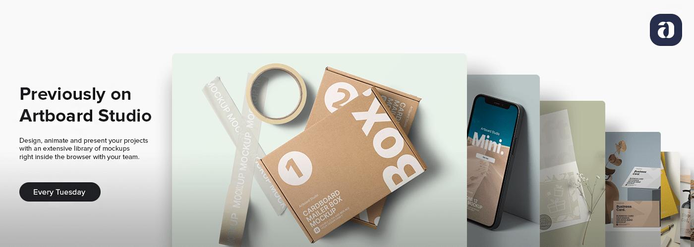 artboard studio branding  free graphic asset identity logo Mockup mothers day Packaging template