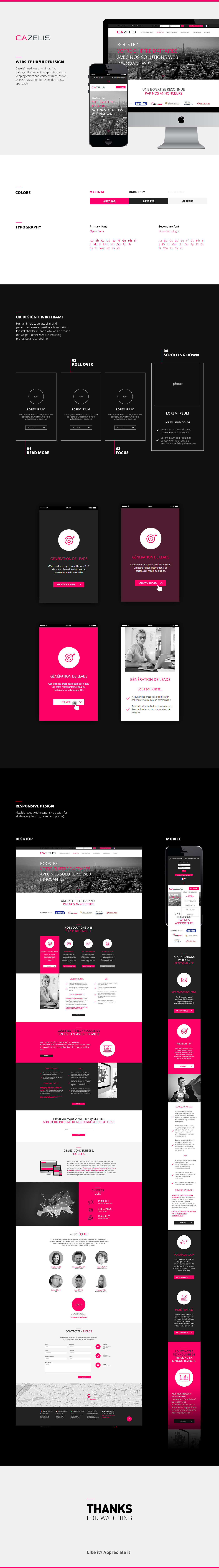 redesign graphic design  online marketing agency minimal design Usability test ux user experience UI