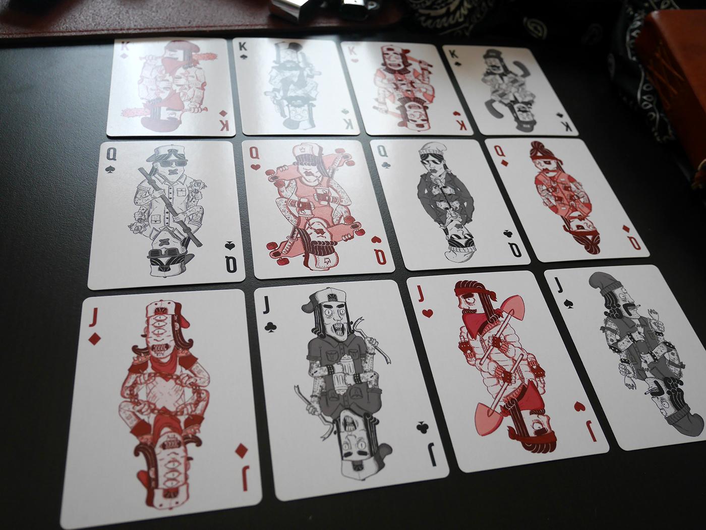 Deck Cards deck Jeu de carte Vicious vicious deck Playing Cards cards Samnuts cartes à jouer Magic