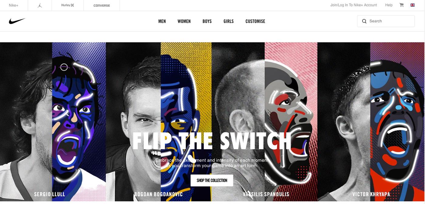 Pedagogía Refinamiento privado  Nike - Flip The Switch Project on Behance