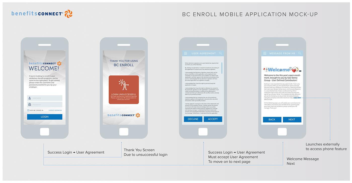 Mobile app sacramento design