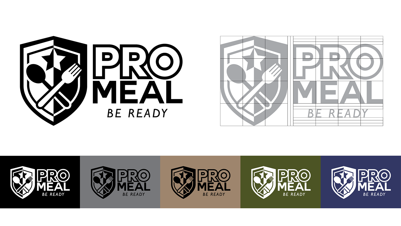 field ration Promeal combat ration ration pack Food  army navy package Label