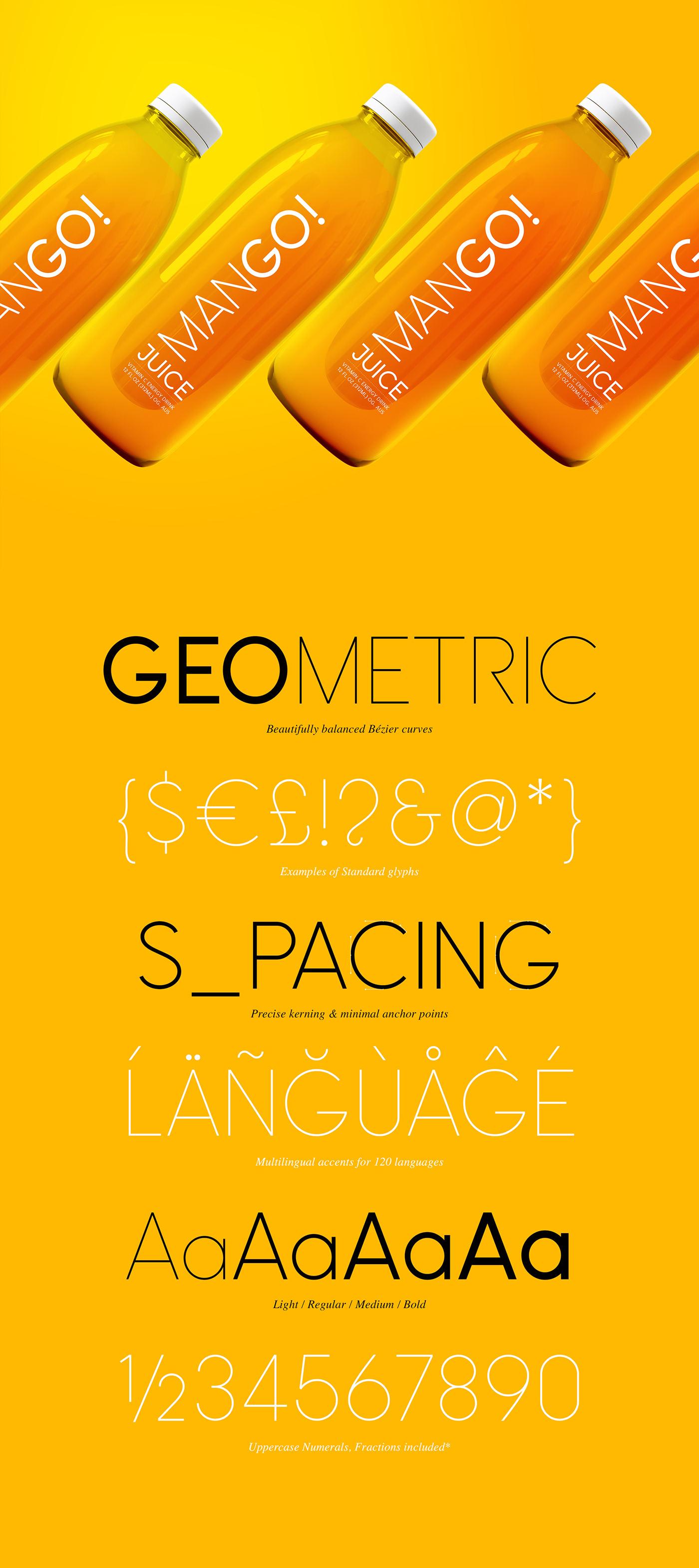 Шрифт – Omega Sans