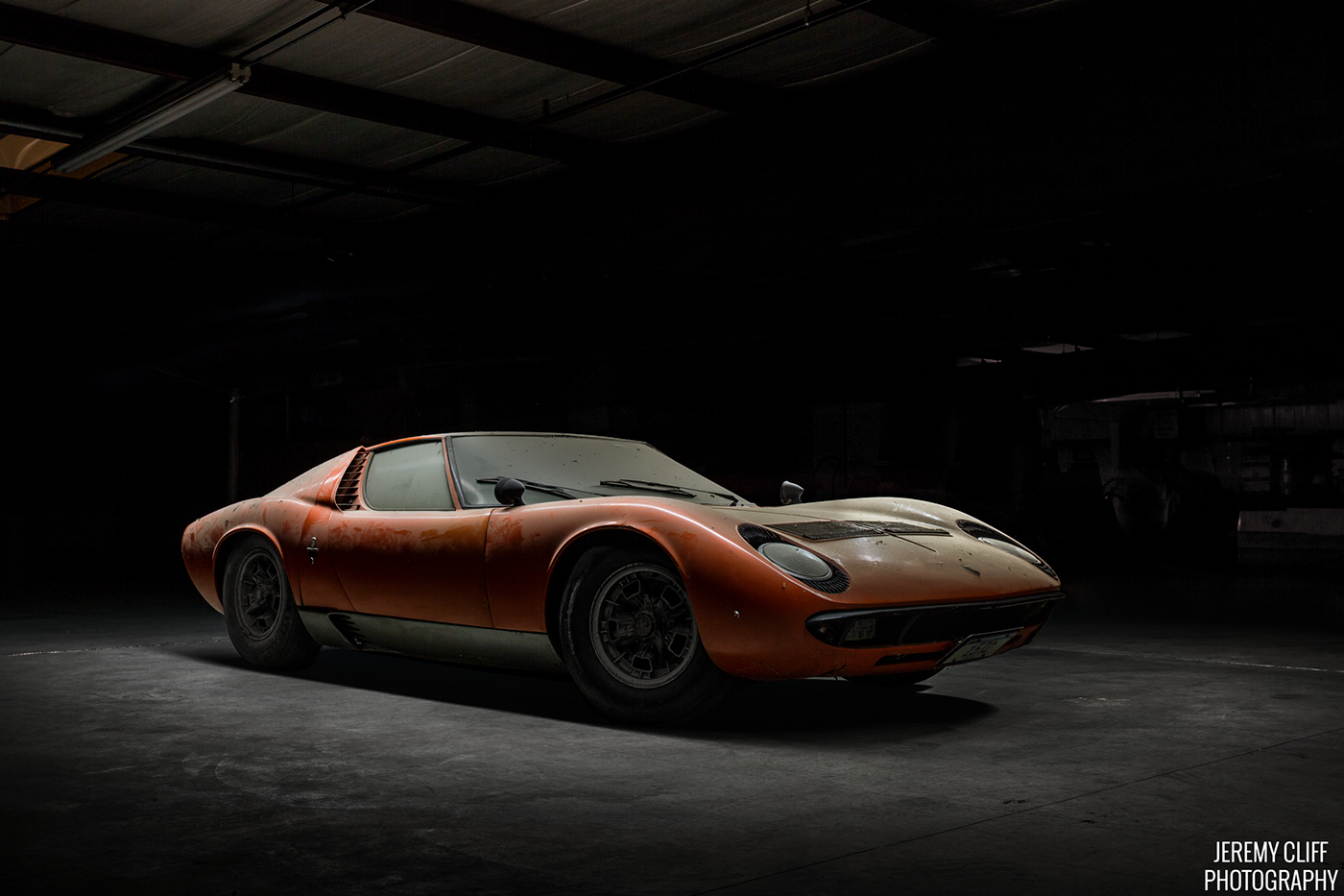 Barn Find Lamborghini Miura On Behance