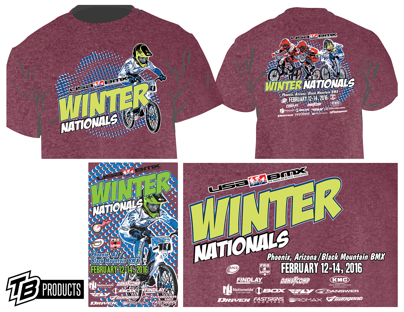 Winter Nationals On Behance