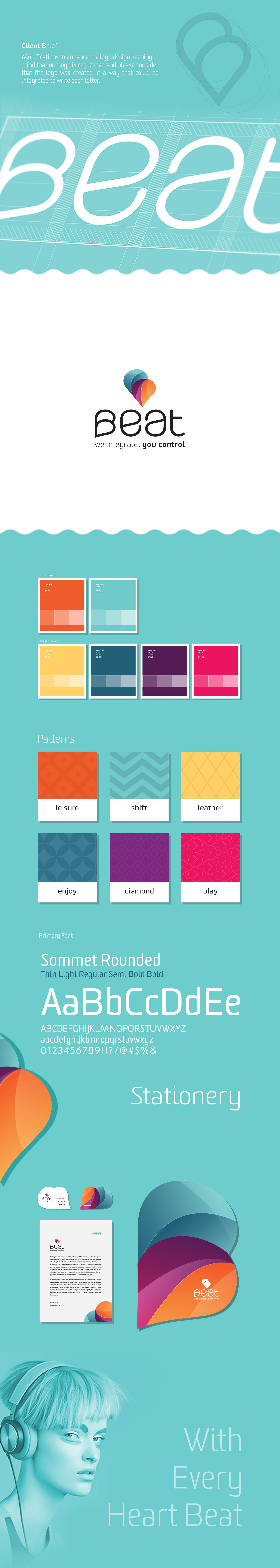 sound logo brand colorful heart Rebrand color