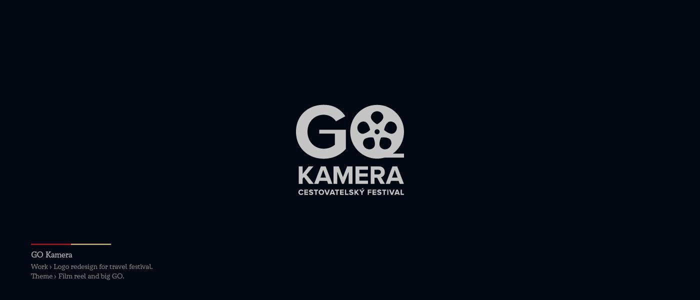 GO Kamera - Logo redesign for travel festival