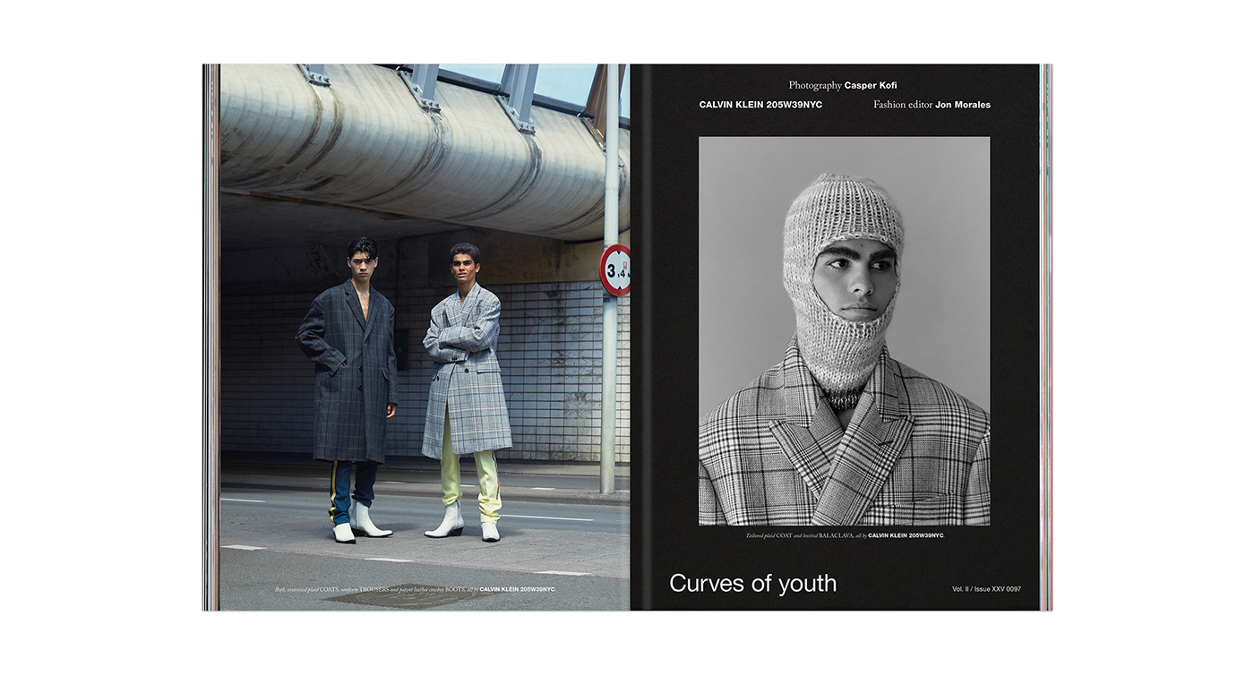 art direction  barcelona editorial design  Fashion  hercules universal magazine Photography  typography   Vera Tamayo