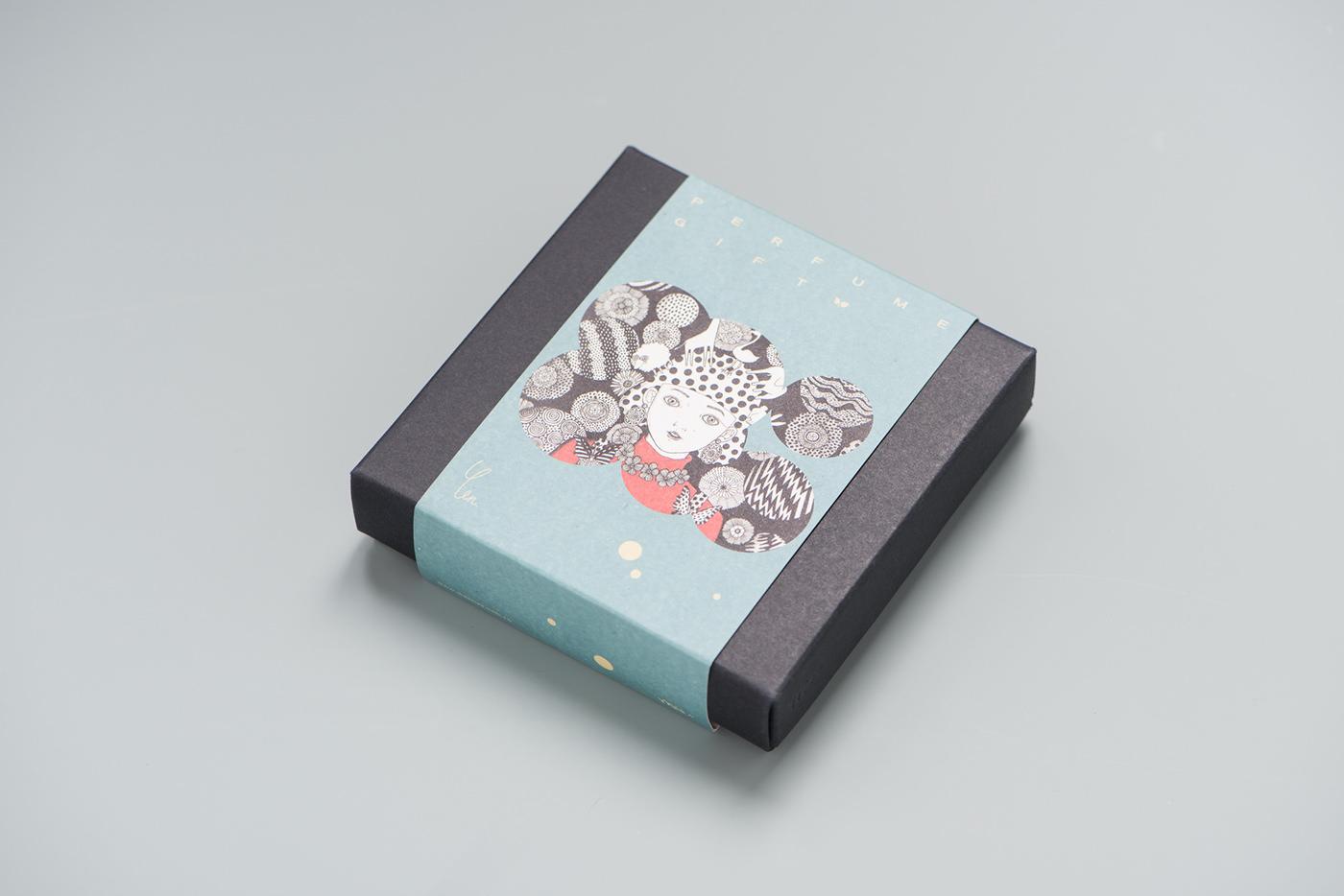有美感的38套香水包裝設計欣賞