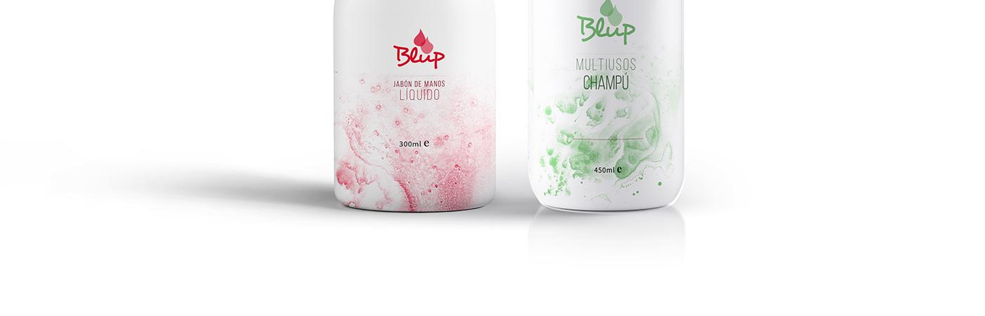 branding  brand logo identity magazine cleaning wash detergent Mockup
