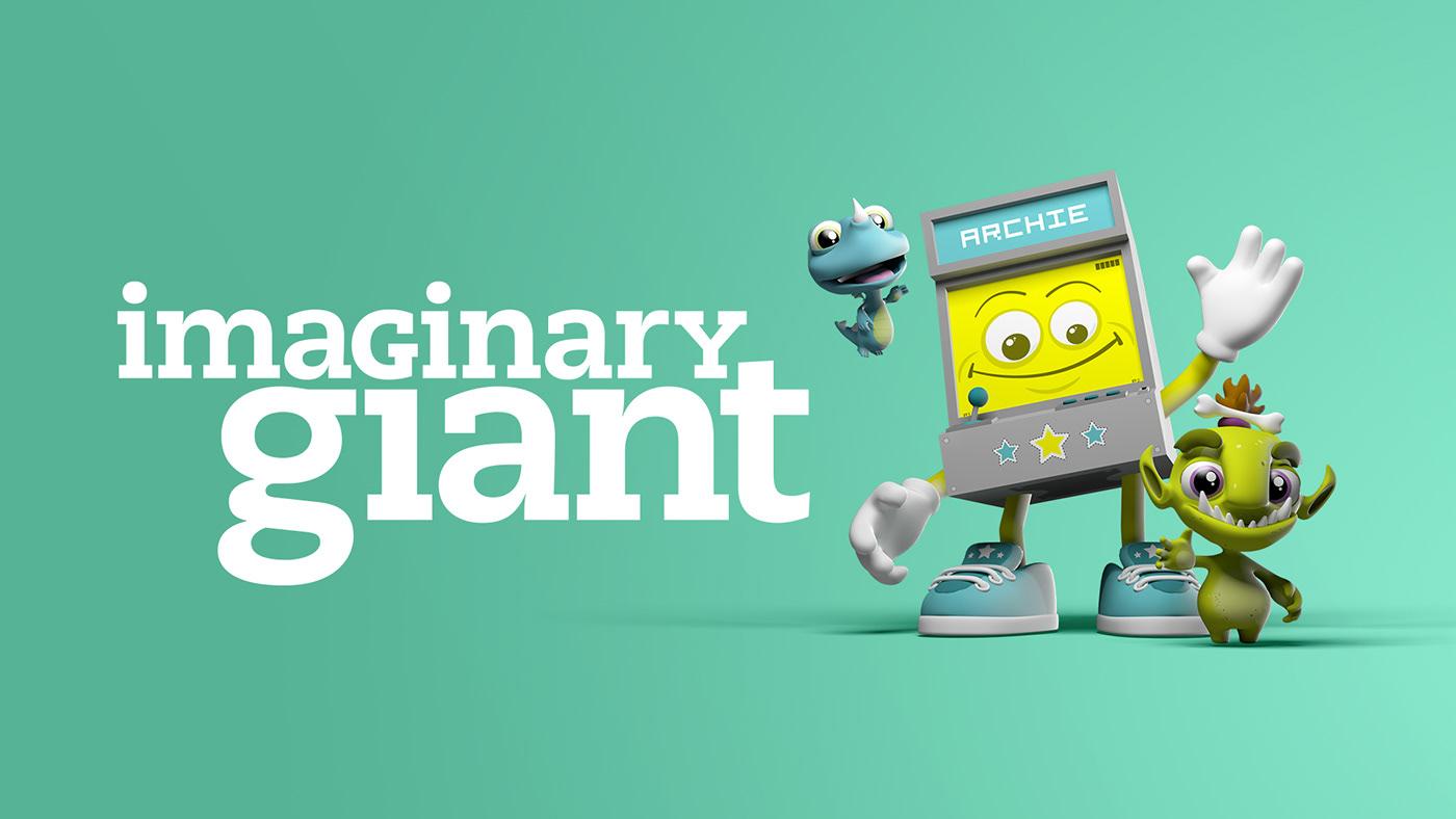 art 3D music educational characters cute Digital Art