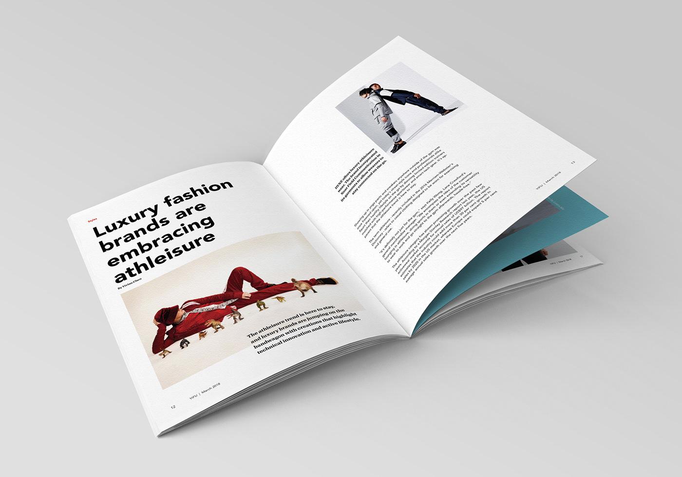 Layout magazine typography   publication Printing