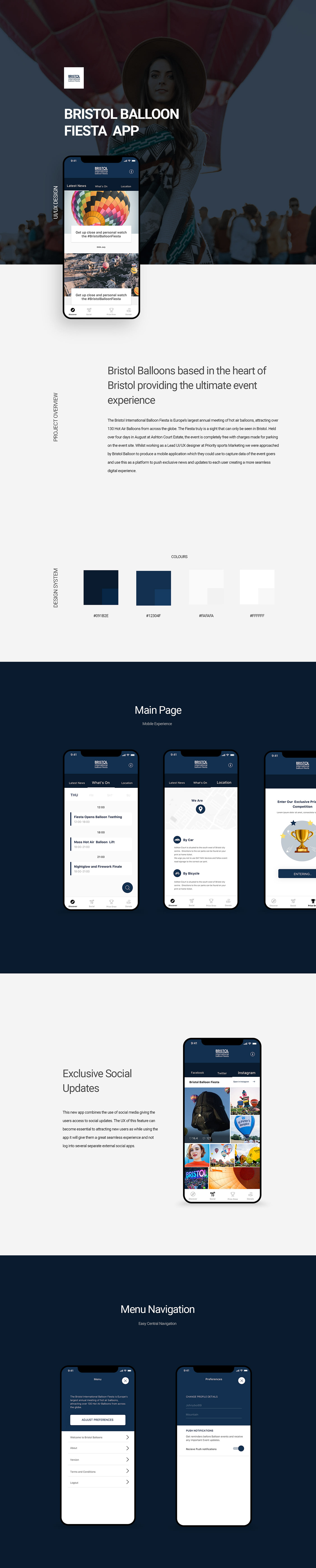 UI ux app Bristol balloon user-experience digital design