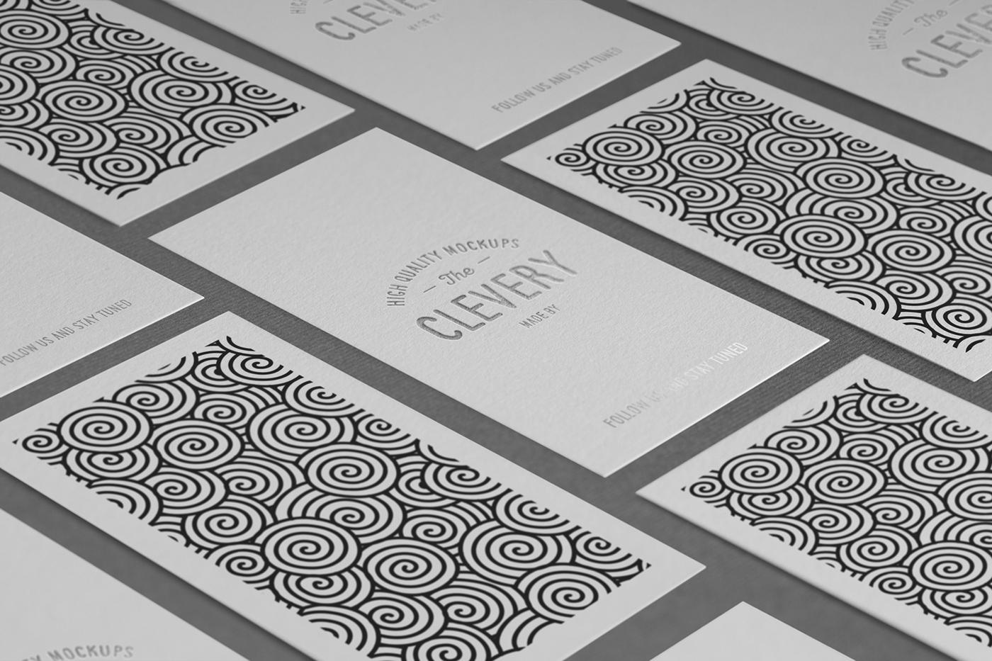 Photorealistic business card mock up 20 on behance colourmoves